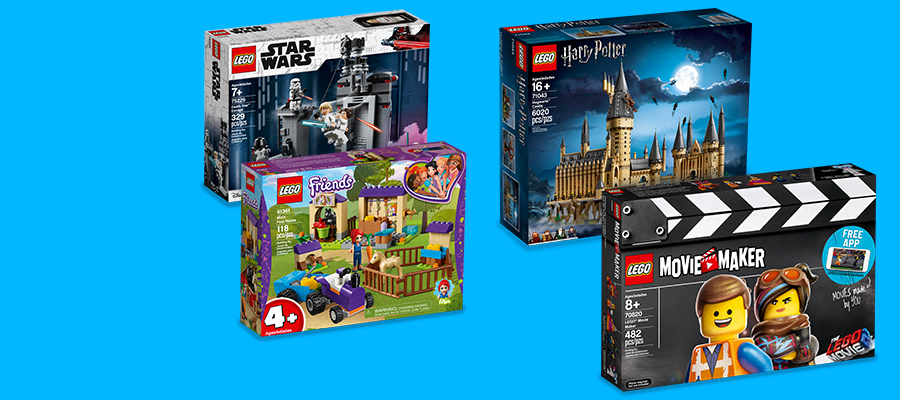 New LEGO® Star Wars™, Friends, The LEGO® Movie 2 & more!