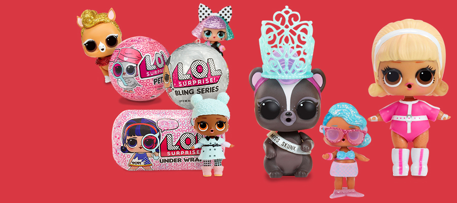 Buy one, get one 50% off on select L.O.L. Surprise!