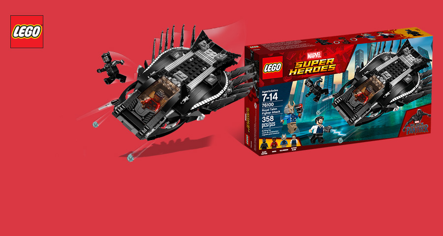 LEGO® Black Panther – Long live the king!