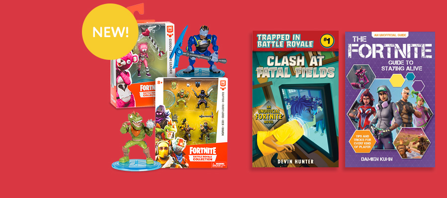 Fortnite: Battle Royale Collection figures and books