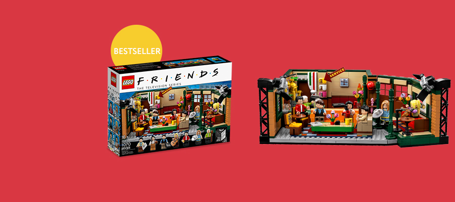 LEGO® Ideas Friends Central Perk