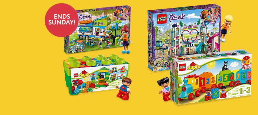 20% off LEGO® Friends & LEGO® Duplo
