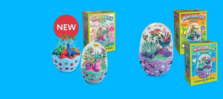 Creativity for Kids Mini Gardens Fantastical tiny terrariums to plant, decorate & grow!
