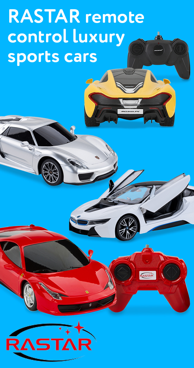 RASTAR remote control luxury sports cars