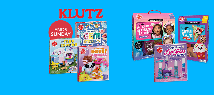 20% off Klutz activity kits