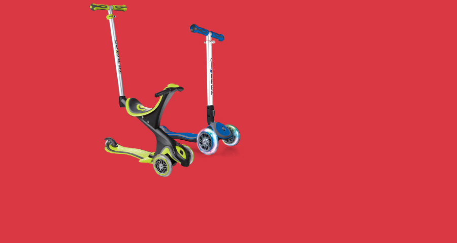 NEW Globber scooters: fun to say, even more fun to ride!