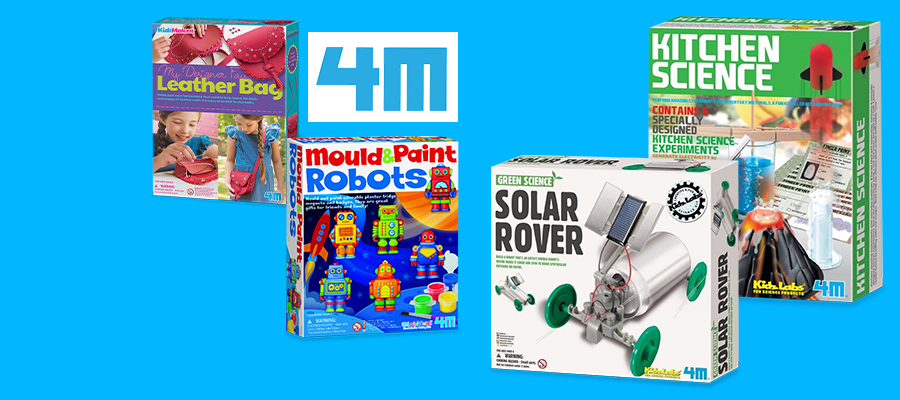 20% off 4M art & science kits