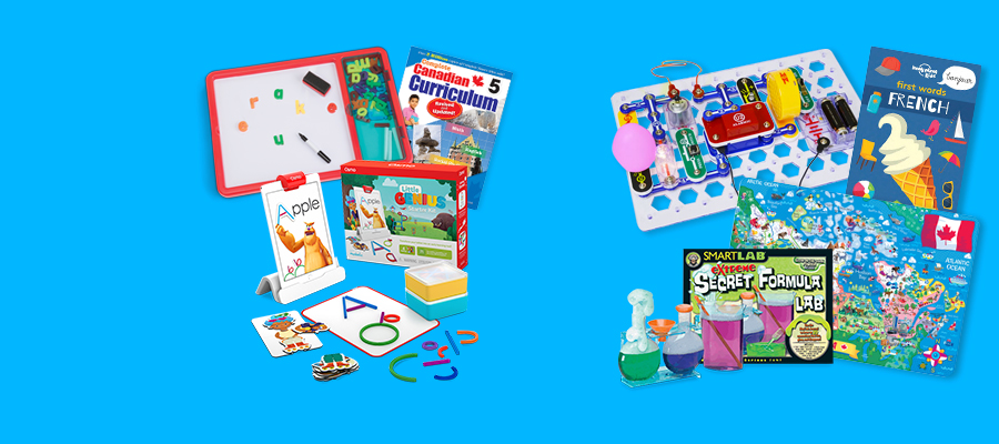 Teaching tools - Toys, games & books to support at-home learning
