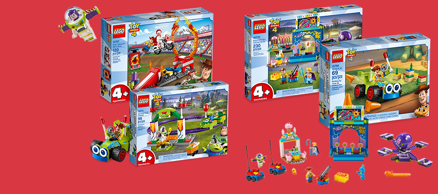 NEW:  LEGO® Toy Story 4