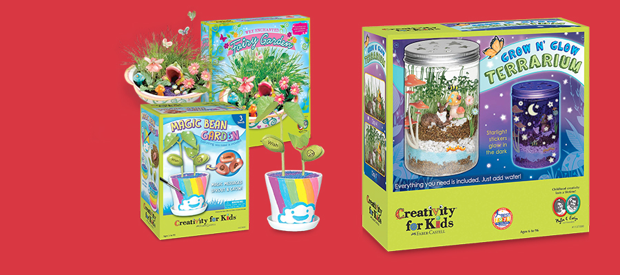 20% off Creativity for Kids growing kits