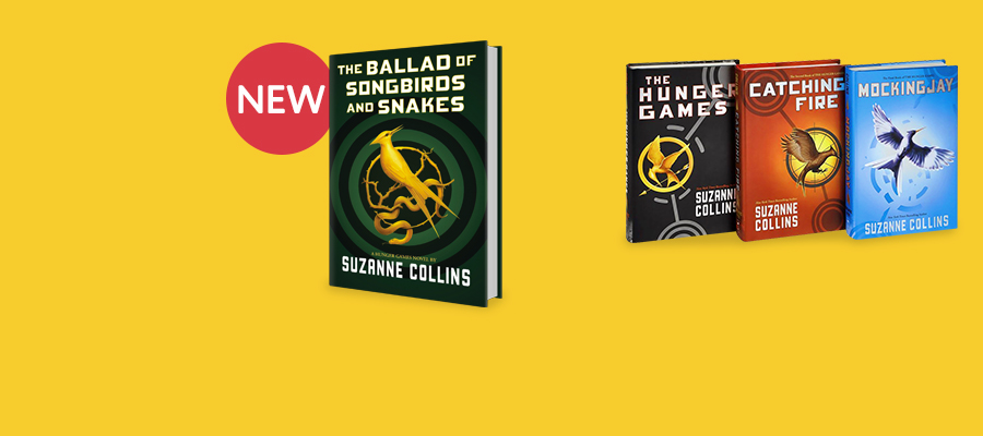 25% off Hunger Games prequel plus the entire series