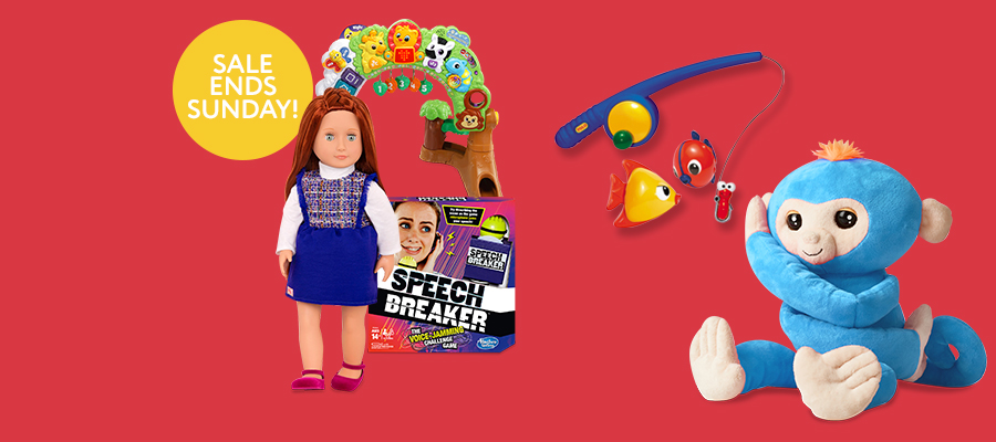 Spring Clearance Event:  NOW 70% OFF select toys