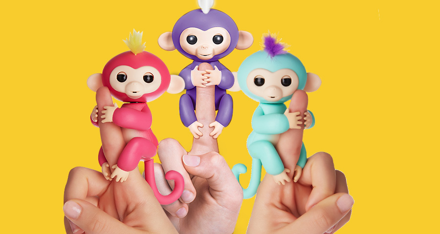 Fingerling Monkeys – adorably animated interactive pets!