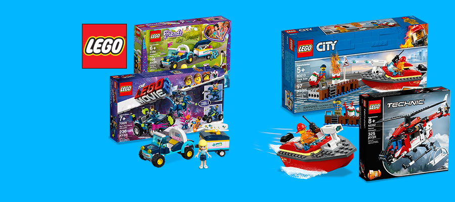 20% off LEGO® Friends, Technic & more!