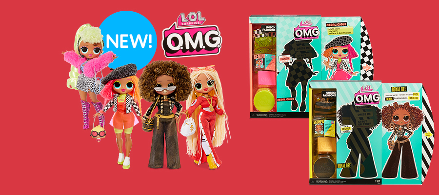 L.O.L. Surprise OMG fashion dolls