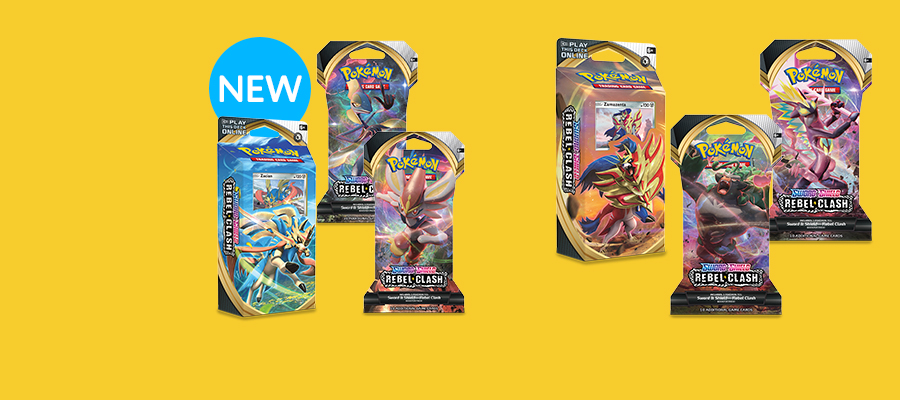Pokémon TCG Sword & Shield Rebel Clash expansion