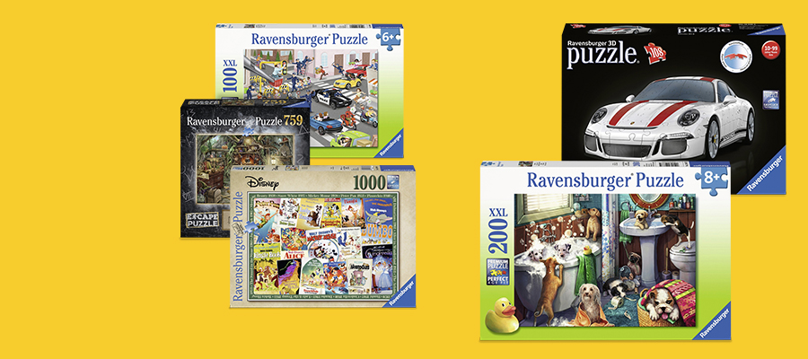 20% off Ravensburger puzzles
