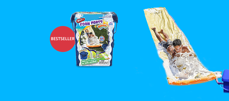 Wham-O Foam Party + Slip 'N Slide