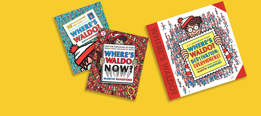 20% off Where's Waldo books