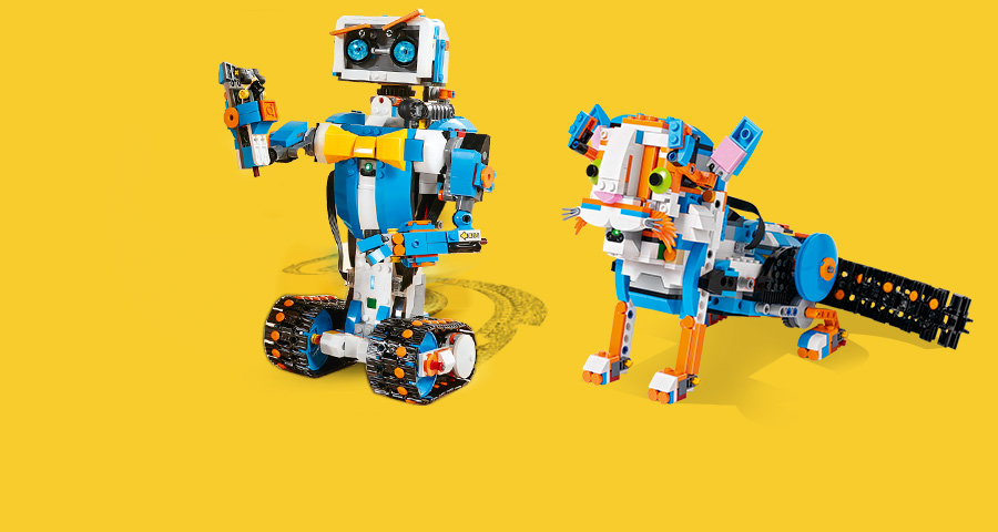 Awesome amplified: LEGO® BOOST Creative Toolbox