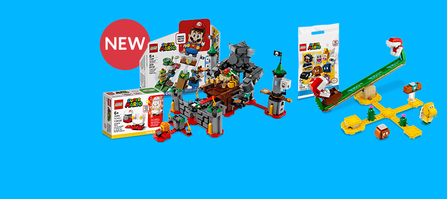 LEGO® Super Mario™ Builder skills meet video game thrills
