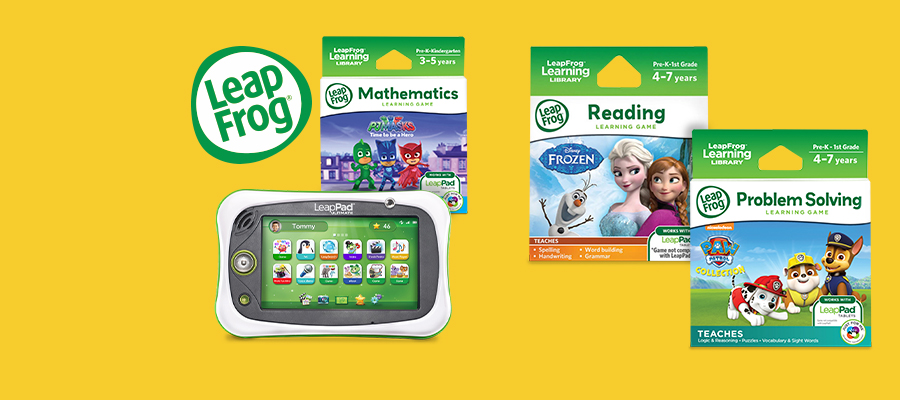 $10 off the LeapPad School Bundle plus 25% off games