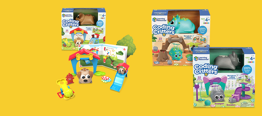 20% off Coding Critters™ kits