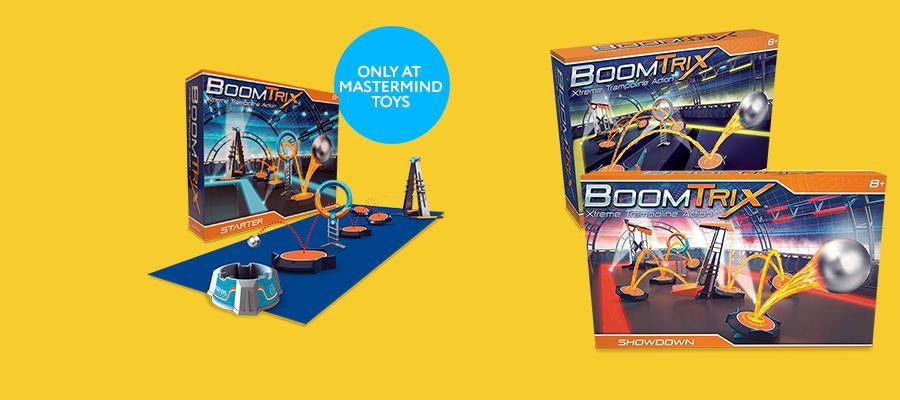 Boomtrix: build extreme marble stunt courses