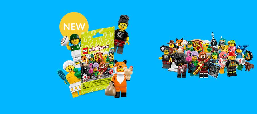 LEGO® Minifigures Series #19