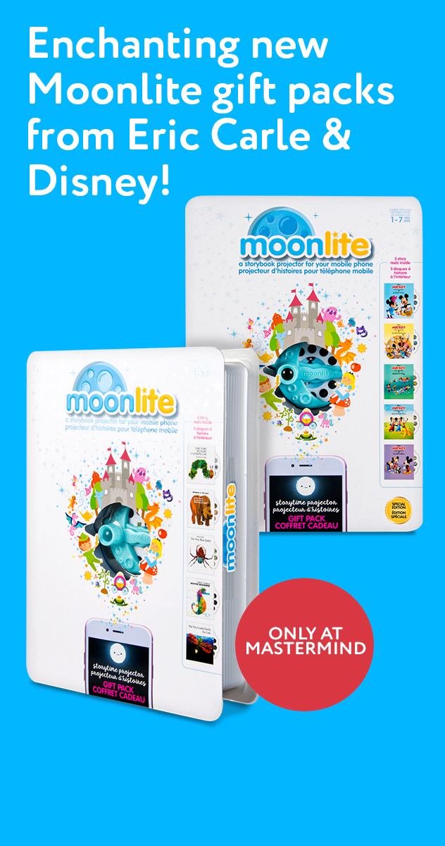 Enchanting new Moonlite gift packs from Eric Carle & Disney!