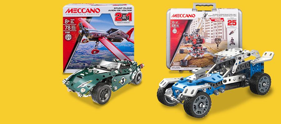25% off Meccano construction sets