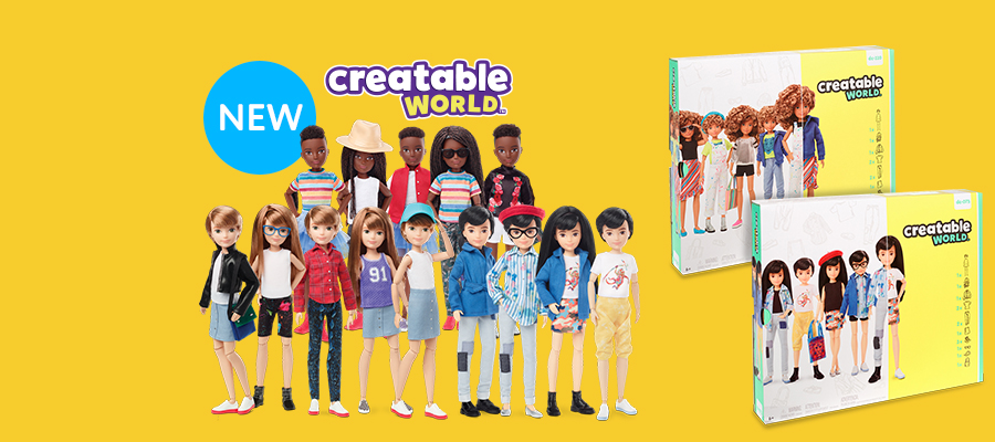 Creatable World™: 100+ looks all in one kit