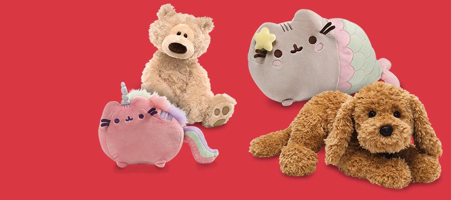 Get GUND plush: soft, sweet & silly stuffie stuff