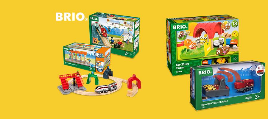 It's OctoBRIO! 20% off BRIO Railway