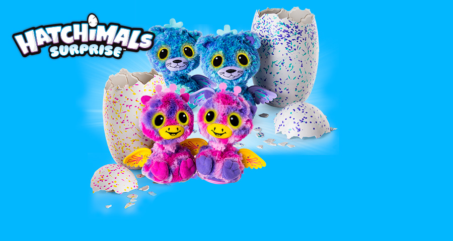 Hatchimals Surprise, Who's inside? It's a