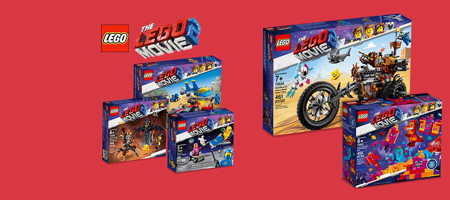 25% off The LEGO® Movie 2 sets