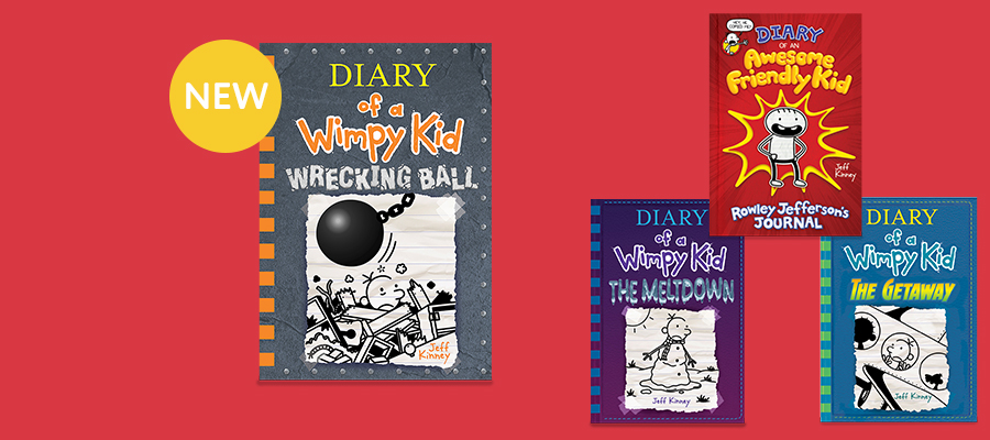 25% off NEW Diary of a Wimpy Kid + the entire series