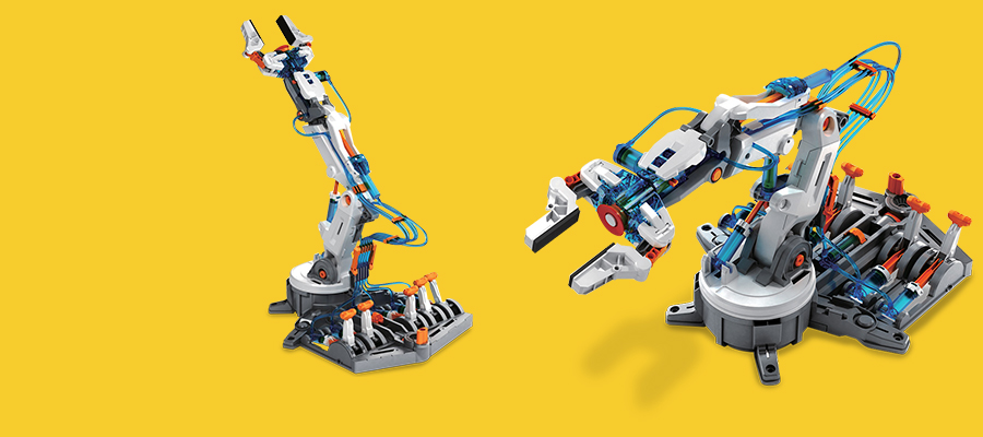 25% off Hydraulic Robotic Arm Building Kit
