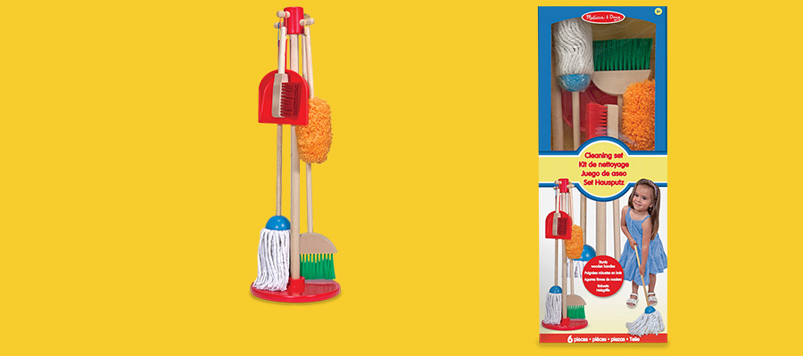 25% off the Melissa & Doug Let's Play House 6-piece play set