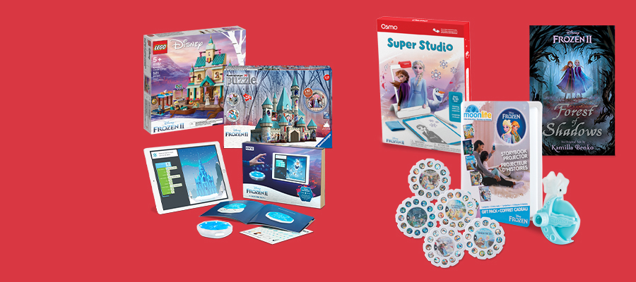 Disney Frozen II - Super-cool toys, puzzles and more