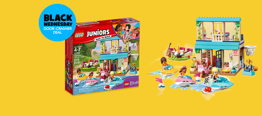 30% off LEGO® Juniors Stephanie's Lakeside House