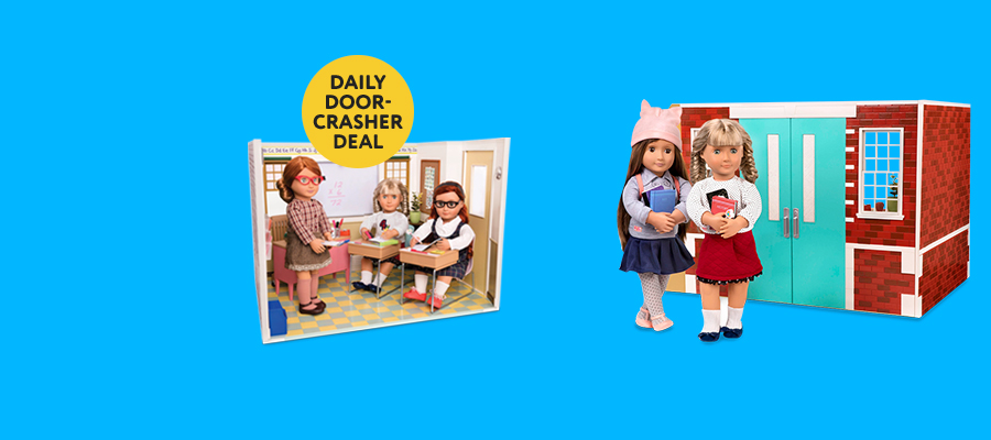 Only $179.99 Our Generation School Room Set Save $120 Reg. $299.99