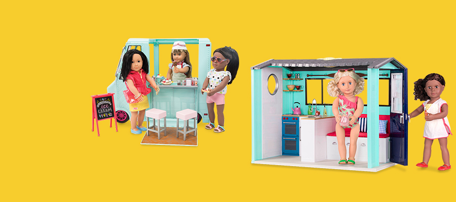 25% off select Our Generation play sets & accessories